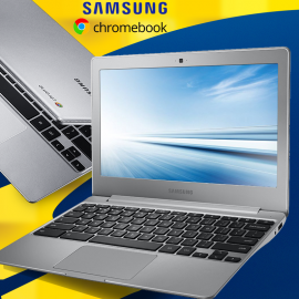 Samsung Chromebook R , 2GB RAM, 16GB SSD, 12 Inch Screen