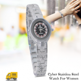Cyber Stainless Steel Watch For Women, CB4009L