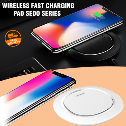Usams Wireless Fast Charging Pad Sedo Series, US-CD29